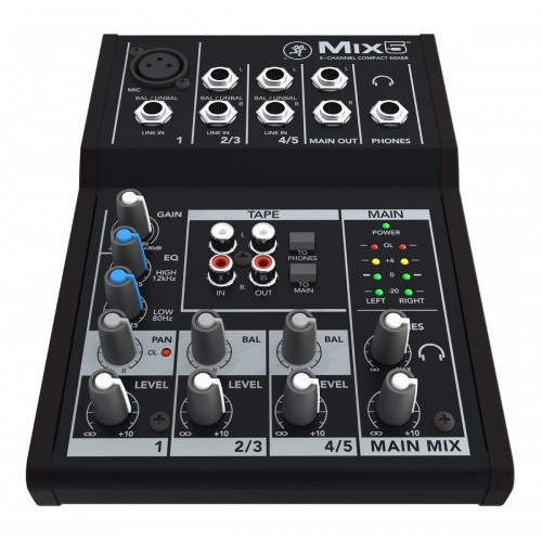 Mackie mixer 5 canales