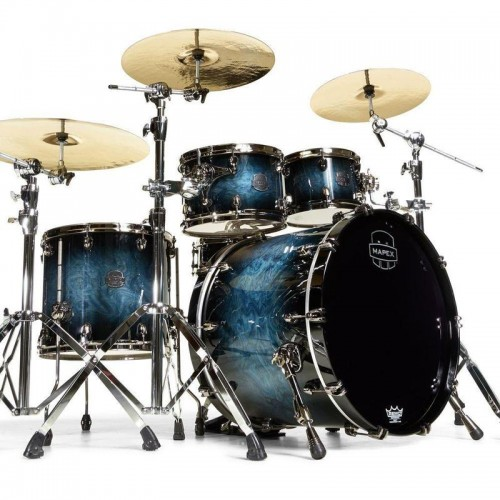 Mapex Saturn V Exotic / 4 Cascos /  Deep Water Maple